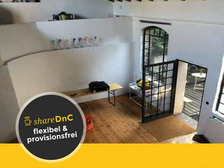 Loftatelierplatz für Kreative Coworker in alter Wachsfabrik - All-in-Miete