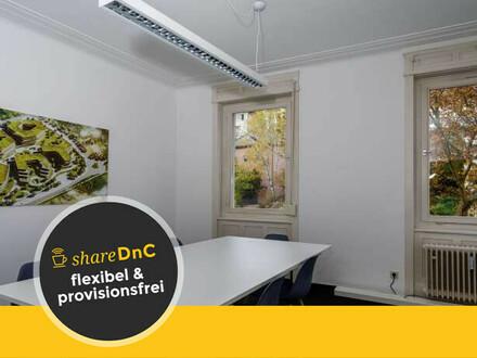 Zusammenhängende Büroräume in netter Bürogemeinschaft in Stuttgart Süd - All-in-Miete