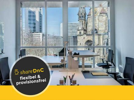 Moderne Büroraume und hochwertig ausgestattete Arbeitsplätze in Charlottenburg - All-in-Miete
