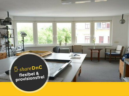 Arbeitsplatz (Atelier - Büro) in Dresden-Neustadt zu vermieten - All-in-Miete