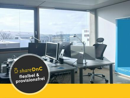 Arbeitsplätze für Kreative in einem hellen Büroraum in Fürth - All-in-Miete