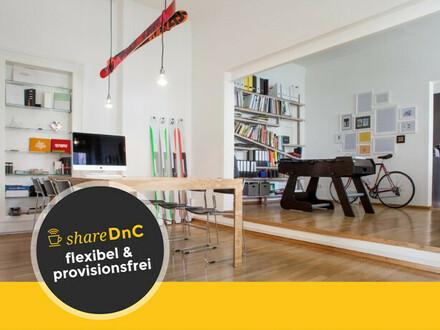 Kreativer Büroraum im Münchner Westend - All-in-Miete