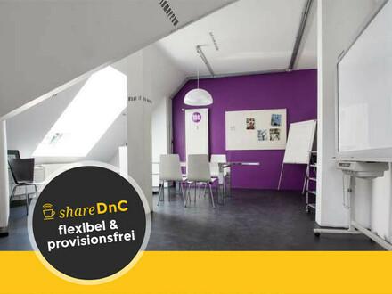 2 zusammenhängende Büroräume und Arbeitsplätze in coolem Ambiente - All-in-Miete