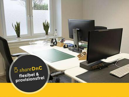 Heller Arbeitsplatz in einem schönen Büro in Sülz - All-in-Miete