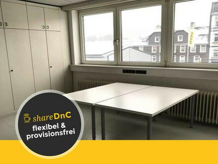 Büroraum und Schreibtischplätze in ruhiger Lage mit Business Charakter - All-in-Miete