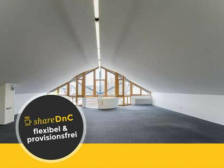 Außergewöhnliche helle Büroetage oder Atelierfläche - All-in-Miete