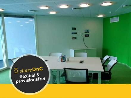 freundlich und offen gestaltete Büros in Coworking Space - All-in-Miete