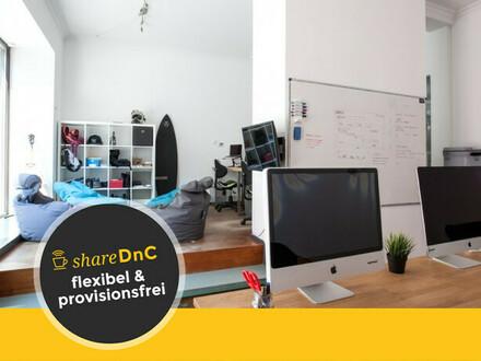 Arbeitsplätze & Büroraum in junger Bürogemeinschaft in Lehel - All-in-Miete