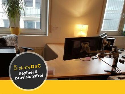 Büros und Schreibtischplätze in Coworking Space in Darmstadts flexibel zu mieten - All-in-Miete