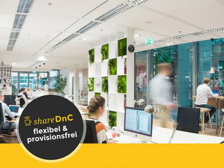 Flexible Arbeitsplätze in modernem Coworking - All-in-Miete