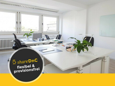 Modern gestaltete Büroräume und Arbeitplätze - All-in-Miete