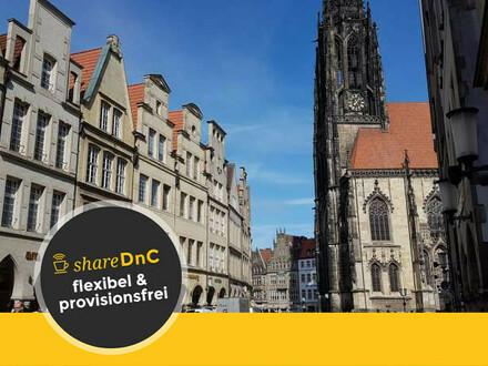 Helle und freundliche Arbeitsplätze direkt im Herzen von Münster - All-in-Miete