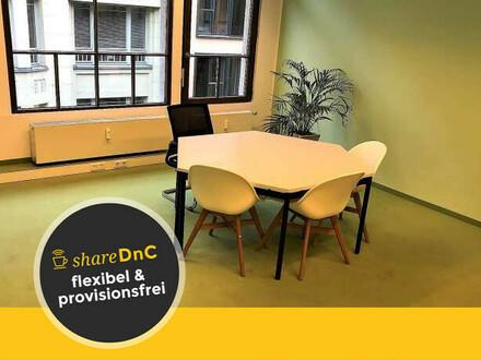 Freundlich und offen gestaltete Büroräume - All-in-Miete