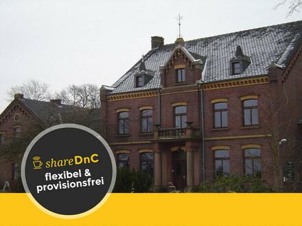 Büroräume in denkmalgeschützter Vierkanthofanlage in Krefeld - All-in-Miete