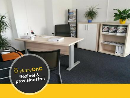 Komplett ausgestatteter Arbeitsplatz in Bürogemeinschaft - All-in-Miete