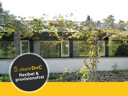 Ruhige Büroräume in Flachdach Bungalow - All-in-Miete
