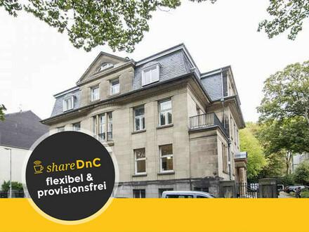 Repräsentative Büroräume direkt am Stadtgarten in einer exklusiven Villa - All-in-Miete