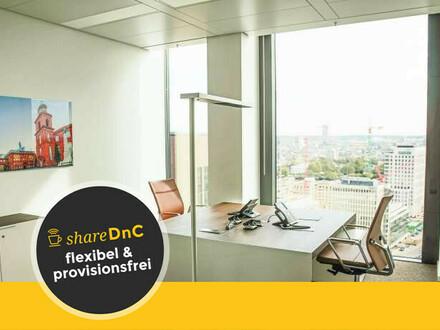 Exklusive Räumlichkeiten im TaunusTurm im Frankfurter Bankenviertel - All-in-Miete