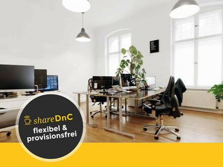 Ab Oktober: Büroräume in lichtdurchflutetem Office in Mitte - All-in-Miete