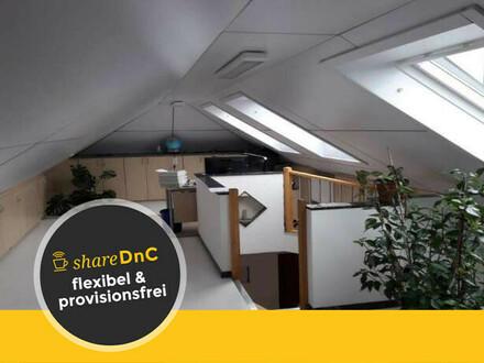 Helles und freundliches Büro mit großer Dachloggia in Wangen - All-in-Miete