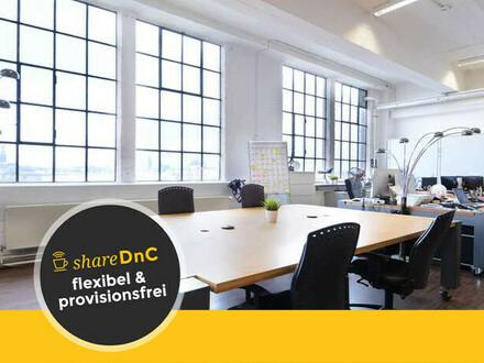Teilfläche in Loftbüro mit atemberaubendem Panorama-Blick - All-in-Miete