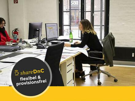 Freie Arbeitsplätze in modernem Büroloft im Kölner Schanzenviertel - All-in-Miete