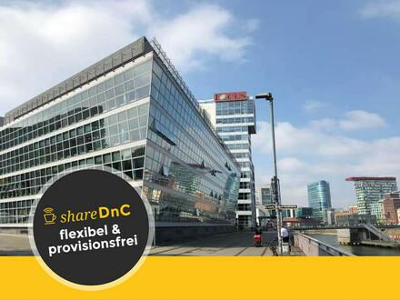 Moderne und repräsentative Büroräume mit Hafenblick - All-in-Miete
