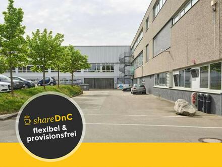 Flexible Büros mit Lager- und Produktionsflächen - All-in-Miete