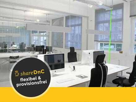 Hochwertig ausgestatteter Büroraum und Coworkingplätze in Stuttgart West - All-in-Miete