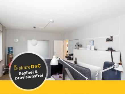 3 Stilvolle Büroräume (einer mit Praxisstuhl) in ruhiger Wohnlage - All-in-Miete