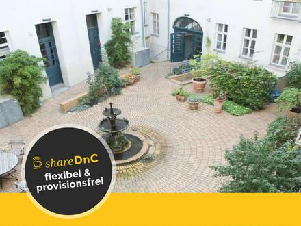 Komplett ausgestattete offene Arbeitsplätze in Berlin Mitte - All-in-Miete