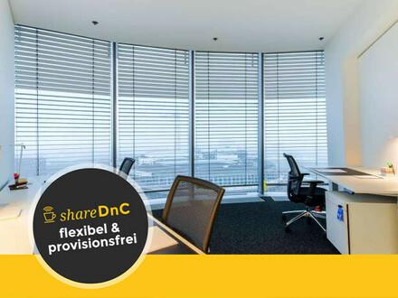 Modern gestaltete Büroräume und Arbeitsplätze direkt am Medienhafen - All-in-Miete