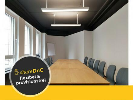 Freie Büroräume in neuem Workspace in Lörick - All-in-Miete