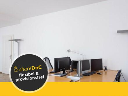 Top ausgestattete Arbeitsplätze in ruhig gelegenem Büro in Grafenberg - All-in-Miete
