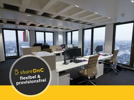 Voll ausgestattetes Büro über den Dächern der Frankfurter Innenstadt - All-in-Miete