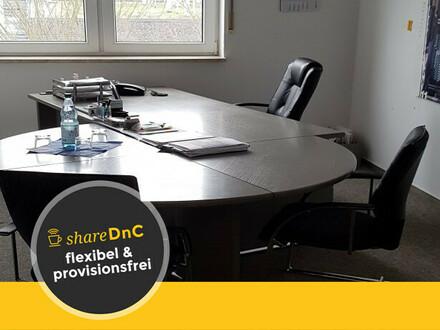 Möblierter und heller Büroraum in Bürogemeinschaft - All-in-Miete