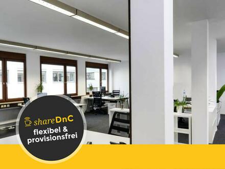 Schöne Arbeitsplätze im Großraumbüro in Stuttgart - All-in-Miete