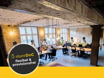 Büroraum und offene Arbeitsplätze in Coworking Space in Neukölln Berlin - All-in-Miete