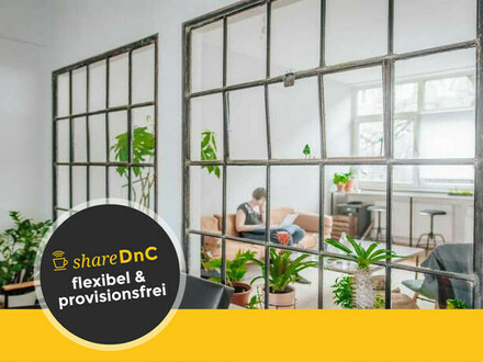 Freie Plätze in offenem und loftartigen Coworking Space - All-in-Miete