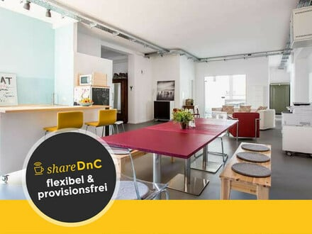 Büroräume mit repräsentativem Loungebereich im Werksviertel - All-in-Miete