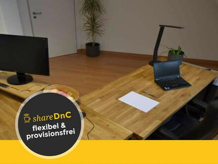 Zwei ruhige Büroräume mit gemeinschaftlicher Dachterrasse - All-in-Miete
