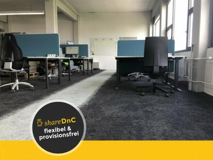 Helle Arbeitsplätze in Loftbüro - All-in-Miete