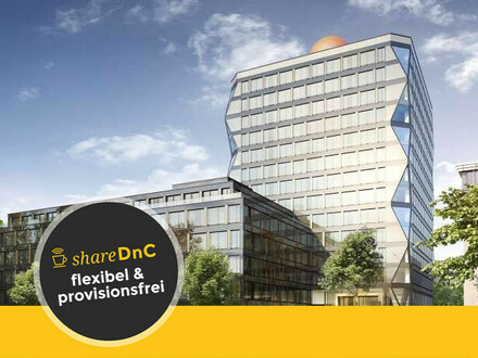 Flexible Büros/ Coworking im neuen Büroensemble ATLAS - All-in-Miete