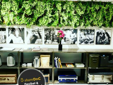 Teil eines Großraumbüros bzw. Showrooms in der Meistermeile - All-in-Miete