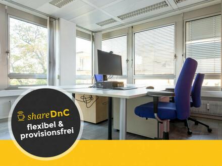 Helle Büroräume in zentraler Lage mit Skylineblick - All-in-Miete