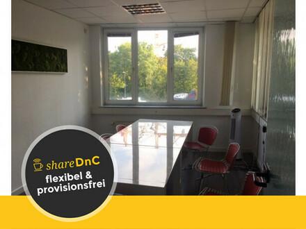 Schönes Büro und ruhige Schreibtischplätze in PR-Agentur - All-in-Miete