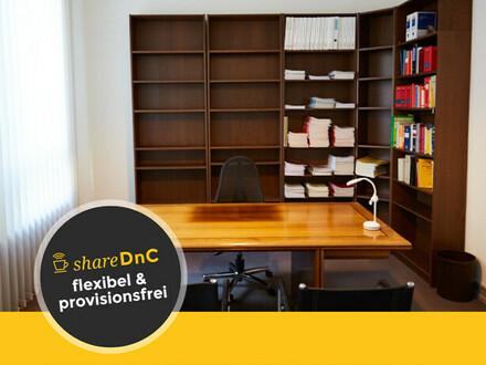 Schöner Büroraum in Rechtsanwaltsgemeinschaft direkt am Stadtgarten - All-in-Miete