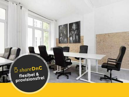 Bürofläche im Open Space in ruhiger Lage eines Berliner Altbaus - All-in-Miete