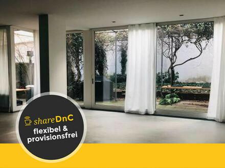 Neu renoviertes Garten-Loft an der Münchner Freiheit - All-in-Miete