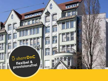 Büroraum und Arbeitsplätze im denkmalgeschützten Lindwurmhof - All-in-Miete